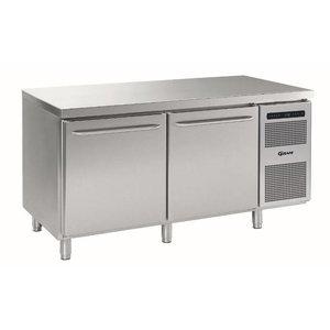 Gram Refrigerated bakery Workbench | 2 Doors | Gram BAKER M MEB 1808 A DLB DRB L2 | 586L | 1698x800x885 / 950 (h) mm
