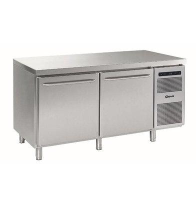 Gram Kühlbackwerkbank | 2 Türen | Gram BAKER M MEB 1808 A DLB DRB L2 | 586L | 1698x800x885 / 950 (h) mm