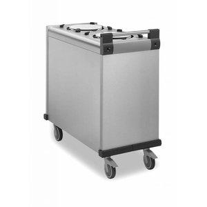 Mobile Containing Verrijdbare Stapelaar Onverwarmd | Mobile Containing DFR 2 x 240 | Borden 200-238mm
