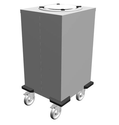 Mobile Containing Verrijdbare Stapelaar Onverwarmd | Mobile Containing 1 TN-MS 240 | Borden 200-238mm