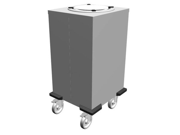 Mobile Containing Verrijdbare Stapelaar Onverwarmd | Mobile Containing 1 TN-MS 210 | Borden 170-208mm