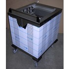 Mobile Containing Wheeled Stacker Cooling | Mobile Containing S-MS / A | Trays / Baskets | Stack Unit Tailor Made