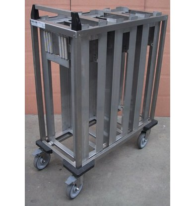 Mobile Containing Wheeled Stacker   Mobile Containing 2 TS FR / O   Stack Units Custom Made