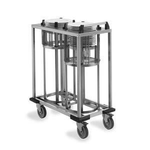 Mobile Containing Verrijdbare Stapelaar | Mobile Containing 2 TN-FR 280 | Borden 240-278mm
