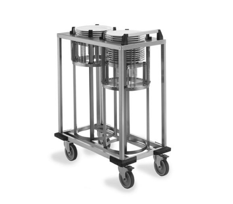 Mobile Containing Wheeled Stacker   Mobile Containing 2 TN-FR 210   signs 170-208mm