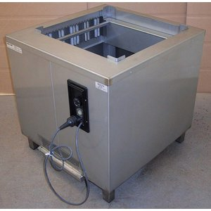 Mobile Containing Heated baskets Stacker | Mobile Containing OR CHU / B | Flat platform 510x510mm