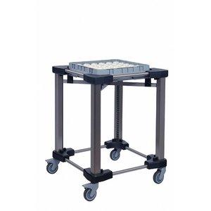 Mobile Containing Baskets Stacker | Mobil mit einem Gehalt DBS 500/500 | Körbe 500x500mm