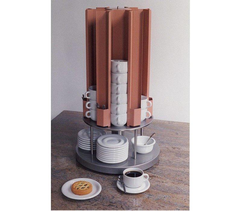 Mobile Containing Kopjesverwarmer Carrousel | Mobile Containing KCV 70/88 | Kopjes 70-88mm | 685(h)mm