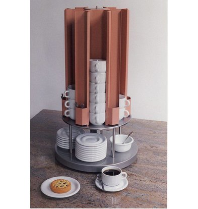 Mobile Containing Tassenwärmer Karussell | Mobil mit einem Gehalt KCV 60/75 | Cups 60-75mm | 685 (h) mm