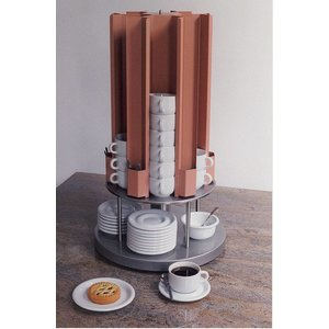 Mobile Containing Cup warmer Carousel | Mobile Containing KCV 105 | 60 Cups | 685 (h) mm
