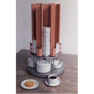 Mobile Containing Tassenwärmer Karussell | Mobil mit einem Gehalt KCV 105 | 60 Tassen | 685 (h) mm