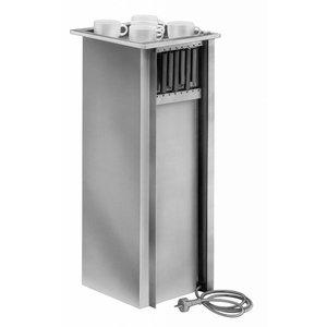 Mobile Containing Inbouwstapelaar Verwarmd | Mobile Containing THSG | voor Servies | Stapelunit op Maat Gemaakt