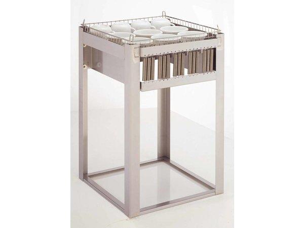 Mobile Containing Inbouwstapelaar Onverwarmd | Mobile Containing OR-C/B | voor Korven 500x500mm