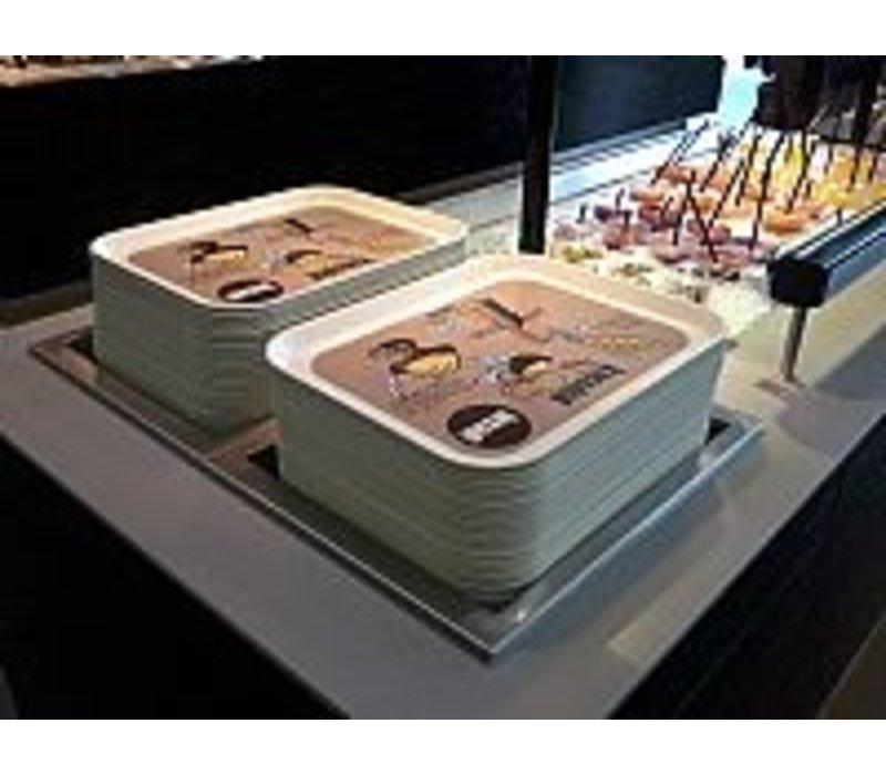 Mobile Containing Inbouwstapelaar Onverwarmd | Mobile Containing FOR-C/D | voor Dienbladen 460x360mm