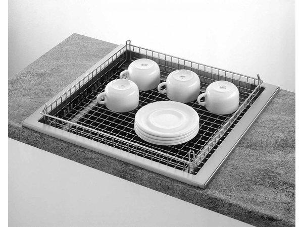 Mobile Containing Inbouwstapelaar Onverwarmd | Mobile Containing FOR-C/BG | voor Korven 500x500mm