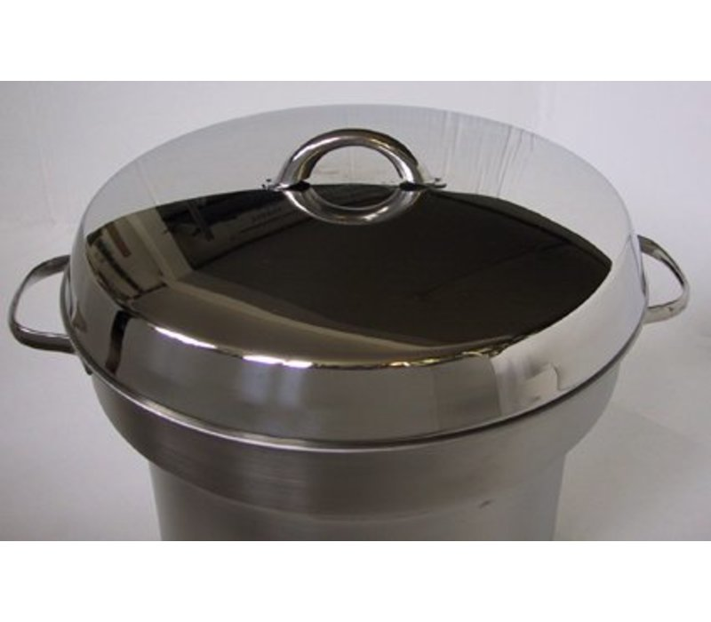 Mobile Containing Cover with handle serving Soup Well | Mobile Containing