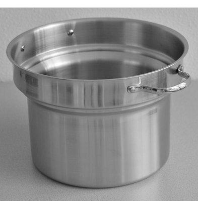 Mobile Containing Schüssel mit zwei Henkeln serviert Suppe Well | 9 Liter | Mobil mit einem Gehalt