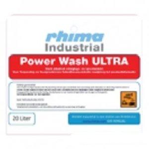 Rhima Vaatwasmiddel Pro Wash Ultra | PE-Can 20 Liter | Voor Bakken-/ Krattenwasmachines