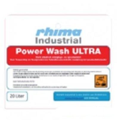 Rhima Waschmittel Wash Ultra Pro | PE-Kanister 20 Liter | Baked-on / Kisten Waschmaschinen