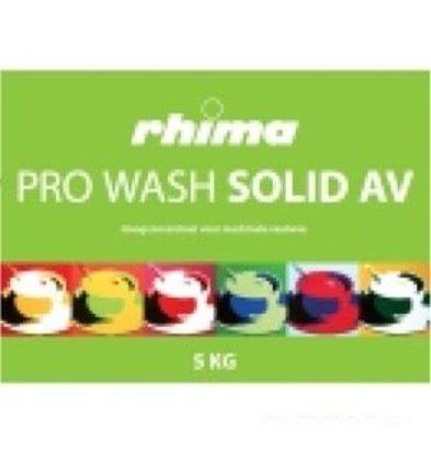 Rhima Detergent Wash Solid Pro AV | Container 2 x 5kg