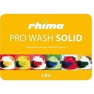 Rhima Detergent Wash Pro Solid | Container 2 x 5 kg