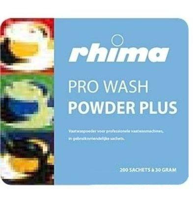 Rhima Pro Wash Waschmittel-Puder plus | Eimer | 150 Beutel