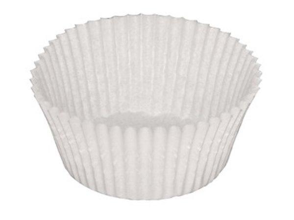 XXLselect Cakebakjes | 1000 Stuks | 20(h) x 70(Ø)mm | Leverbaar in 2 Afmetingen