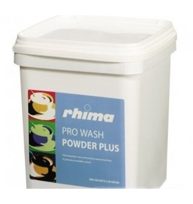 Rhima Pro Wash Detergent Powder Plus | bucket | 10 kg