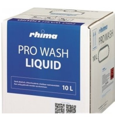 Rhima Dishwashing Liquid Pro Wash | Bag in Box | 10 liter