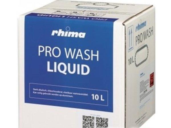 Rhima Vaatwasmiddel Pro Wash Liquid | Bag in Box | 10 liter