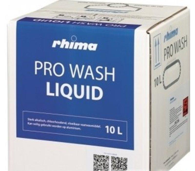 Rhima Dishwashing Liquid Pro Wash   Bag in Box   10 liter