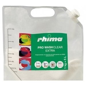 Rhima Detergent Wash Clear Pro Tools | bag | 5 liter / 1 kg