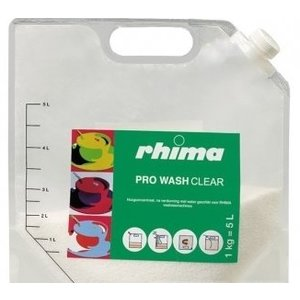 Rhima Dishwashing Pro Wash Clear | bag | 5 liter / 1 kg