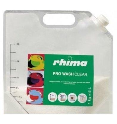 Rhima Vaatwasmiddel Pro Wash Clear | Bag | 5 liter / 1 kg