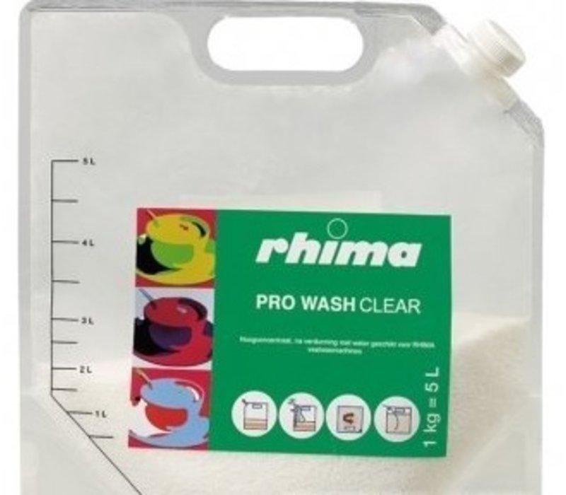 Rhima Dishwashing Pro Wash Clear | bag | 5 liter / 1 kg