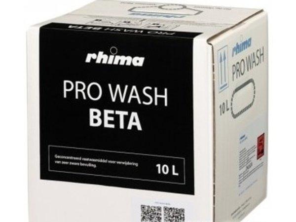 Rhima Waschmittel Wash Pro Beta | Bag in Box 10 Liter