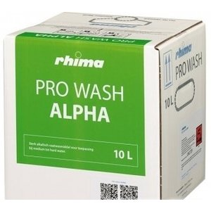 Rhima Detergent Wash Alpha Pro | Bag in Box | 10 liter