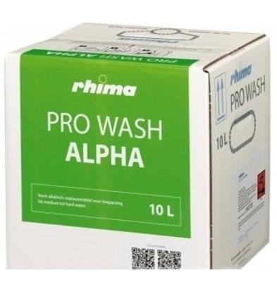 Rhima Detergent Wash Alpha Pro | Bag in Box | 10 liter