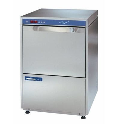 Rhima Vaatwasmachine 50x50cm | Rhima DR52ES | Incl. Waterontharder | 400V | MADE IN EUROPE