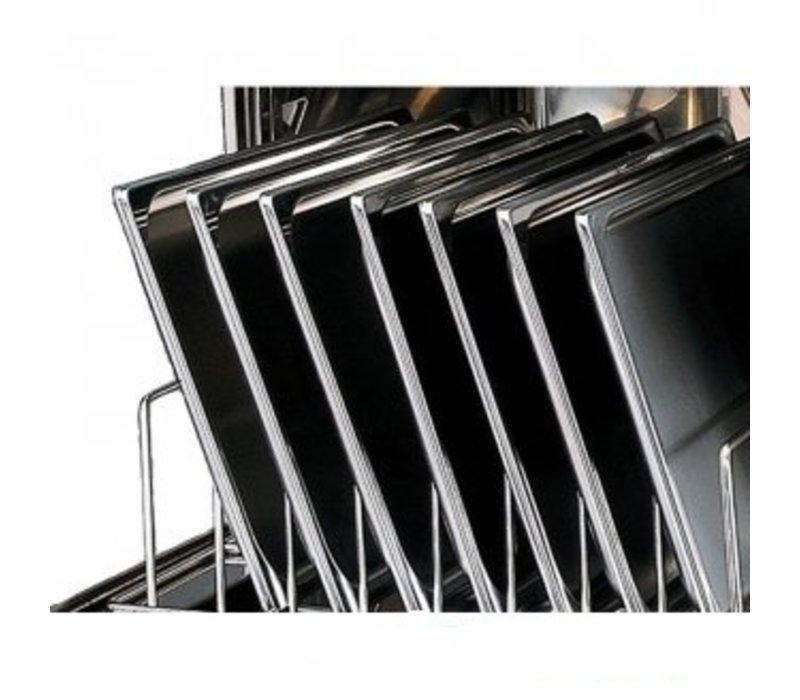 Rhima Dishwasher 50x50cm | RHIMA DR52E Plus | Incl. Break Tank and Naspoeldrukverhogingspomp | 400V