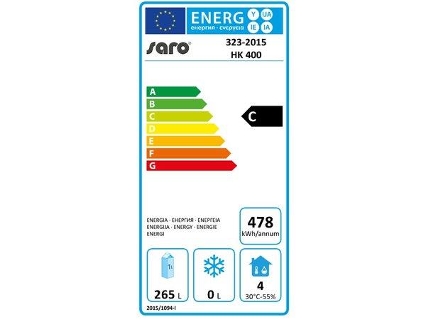 Saro Refrigerator - 350 liters - 60x58x (h) 185cm