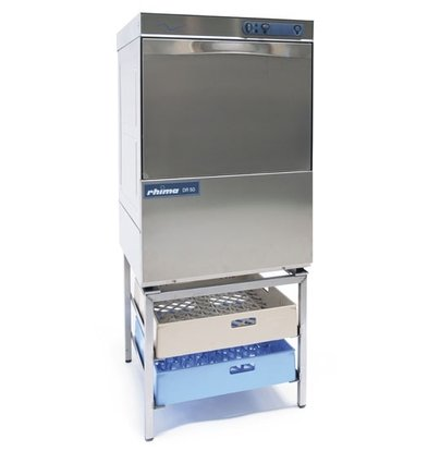 Rhima Dishwasher 50x50cm | RHIMA DR50S | Choice 230 / 400V | Incl. softener | 590x600x850mm
