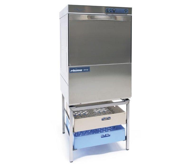 Rhima Dishwasher 50x50cm   RHIMA DR50S   Choice 230 / 400V   Incl. softener   590x600x850mm