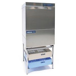 Rhima Dishwasher 50x50cm | RHIMA DR50 Plus | Choice 230 / 400V | Incl. Break Tank and Naspoeldrukverhogingspomp