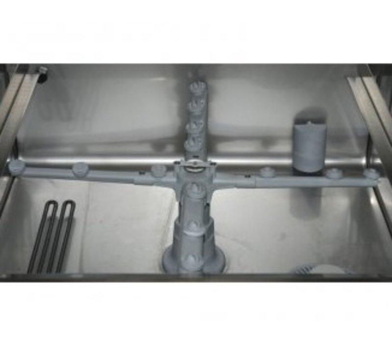 Rhima Vaatwasmachine 50x50cm | Rhima DR50 Plus | Keuze 230/400V | Incl. Breaktank en Naspoeldrukverhogingspomp