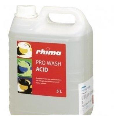 Rhima Ontkalkingsmiddel Pro Wash Acid   PE-Can 10x 1 liter