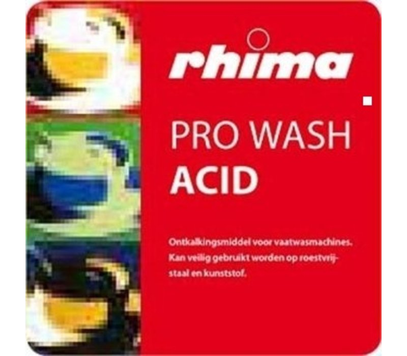 Rhima Descaling agent Pro Wash Acid | PE-Can 2 x 5 liters