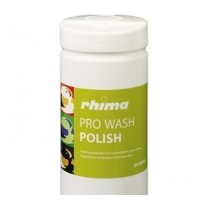 Rhima Pro Wash care products Polish   Box 6 x 80 wipes