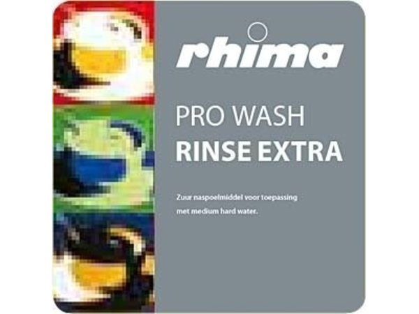 Rhima Naspoelmiddel Pro Wash Rinse Extra | Bag in Box 10 liter