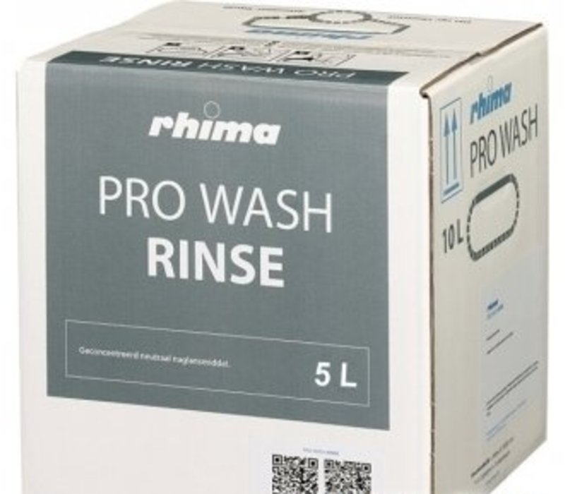 Rhima Rinse Pro Wash Rinse | Bag in Box | 5 liter